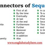 Connectors of Sequence