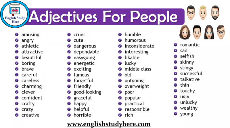 adjectives for people Archives