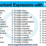 Expressions with Make