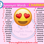 Synonym Words Related to CHARMING