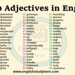 100 Adjectives in English
