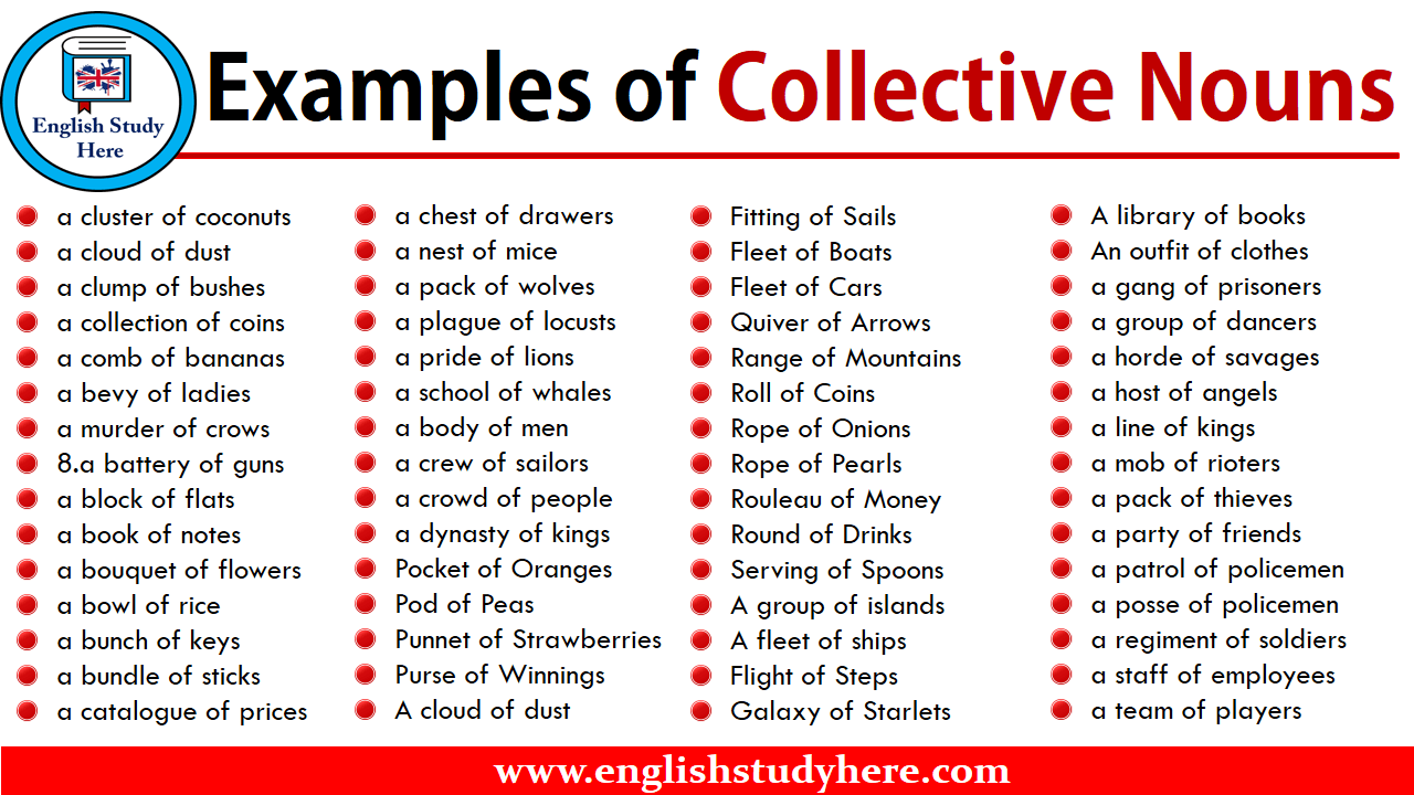 Examples of Collective Nouns