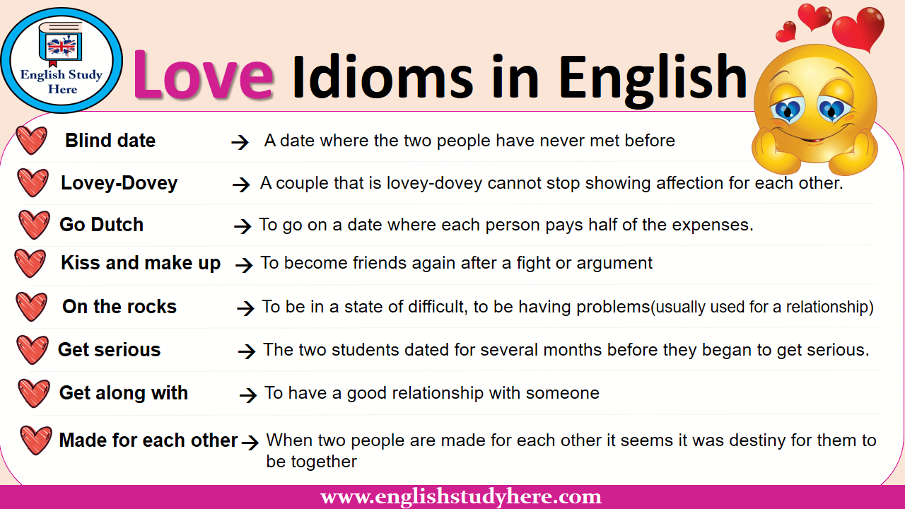 Love Idioms in English