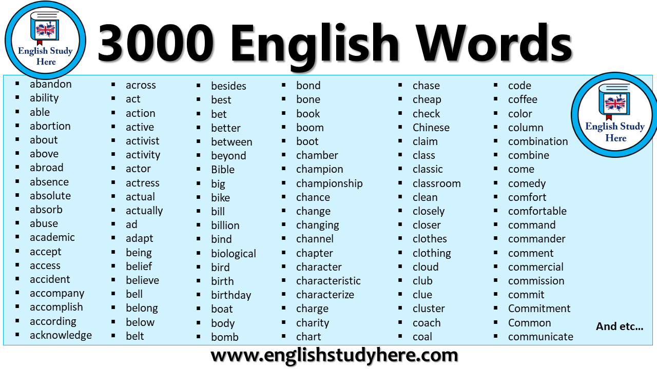 3000 English Words