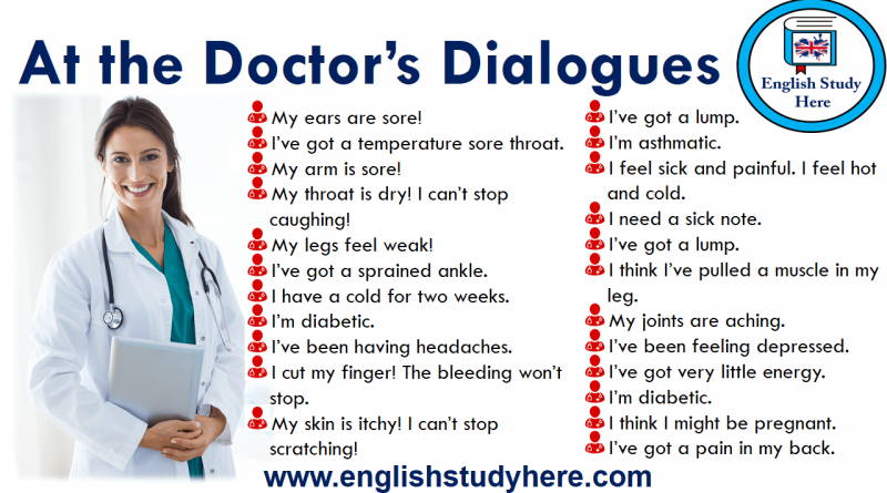 At the Doctor's Dialogues