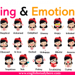 Feeling and Emotions Words