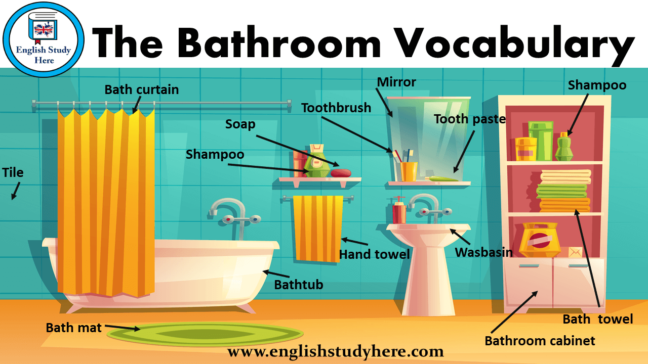 The Bathroom Vocabulary