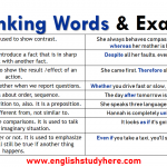 Linking Words and Examples