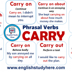 Phrasal Verbs with CARRY