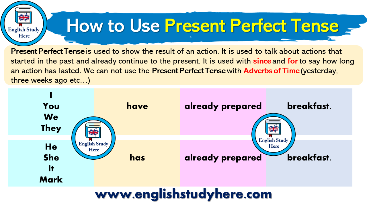 How to Use Present Perfect Tense