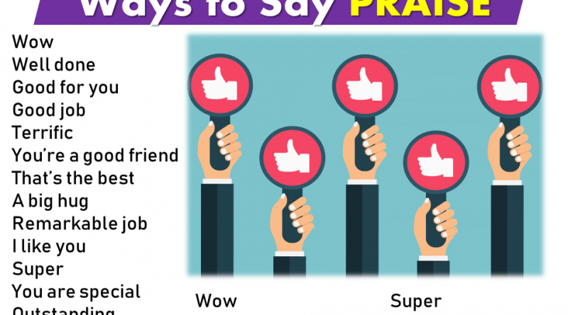 Ways to Say PRAISE-Speaking Tips