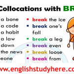 English Collocations with BREAK