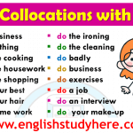English Collocations with DO