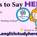 32 Ways to Say HELLO in English