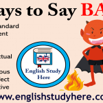 33 Ways to Say Bad in English