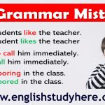8 Grammar Mistakes in English