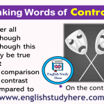 English Linking Words of Contrast