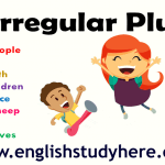 Irregular plurals list in english