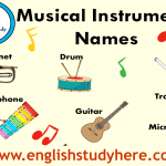 Musical Instruments Names and Pictures