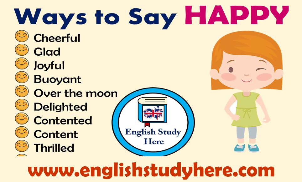 32 Ways to Say HAPPY in English