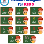 Numbers in English For KIDS