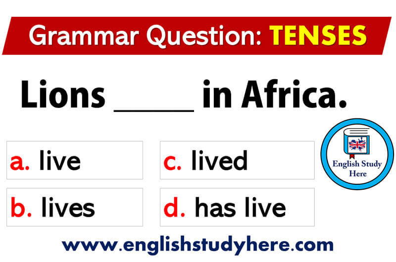 English Grammar Tenses Exercises and Answers - English Study